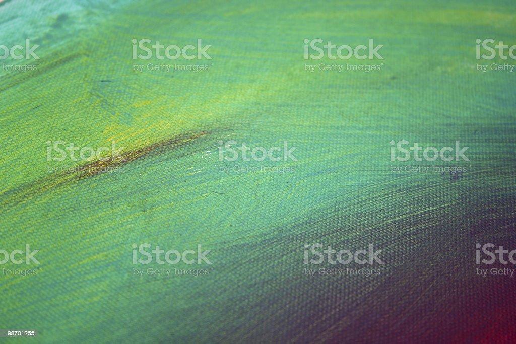 Abstract Art - Green,Yellow royalty-free stock photo
