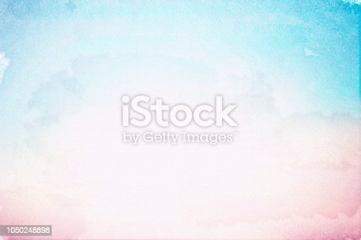 abstract  art of pastel watercolor on sketch paper texture for background design element as banner, ads, presentation ; water color effecting paint concept