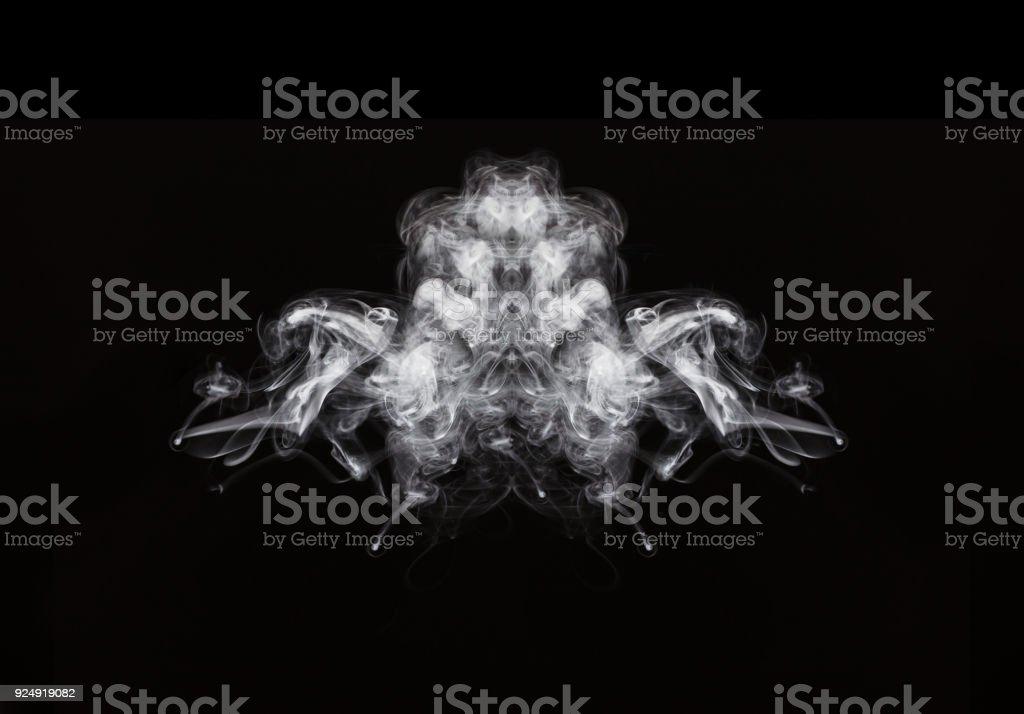 Abstrakte Kunst Von Rauch In Dunklen Hintergrund Stockfoto Und Mehr Bilder Von Abstrakt Istock