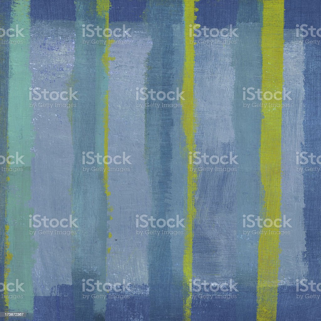 Abstract Art with Green Stripe royalty-free stock photo