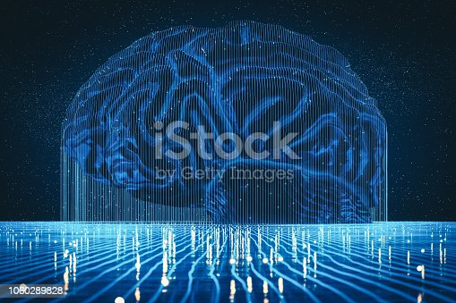 istock Abstract Artificial Intelligence Background 1060289828