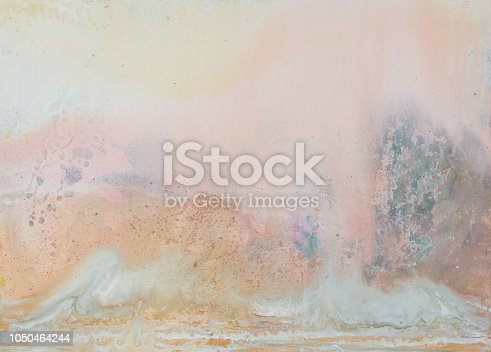 istock Abstract as background. Oli painting. Warm colors. High quality texture in extremely high resolution. 1050464244