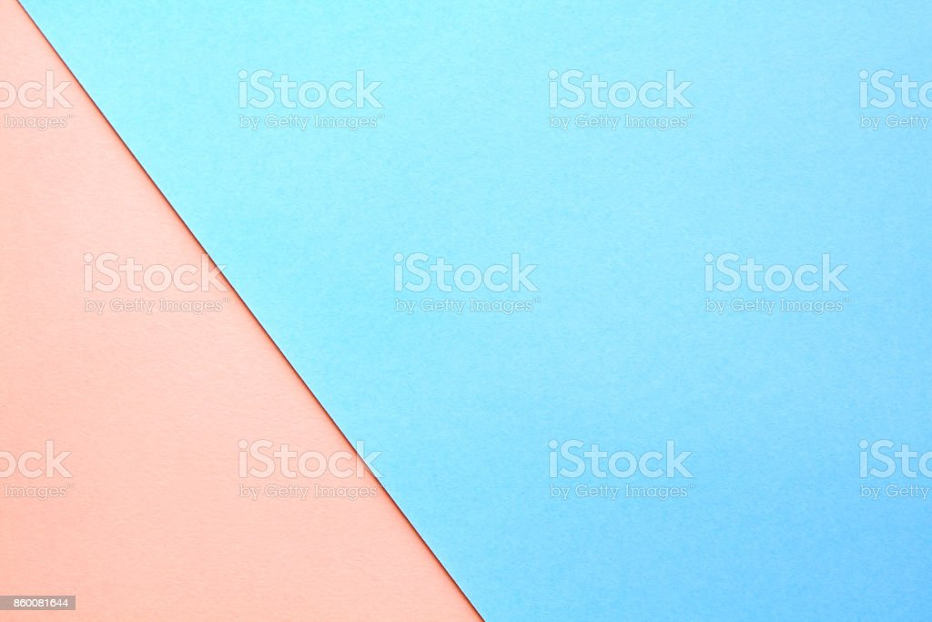 Abstract asymmetrical geometric watercolor paper background in soft pastel colors. stock photo