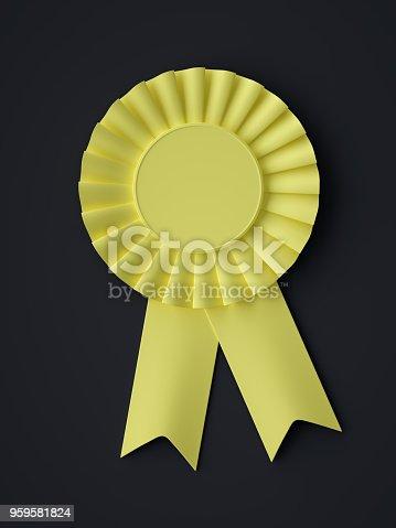 istock Abstract Award Ribbon Symbol 959581824