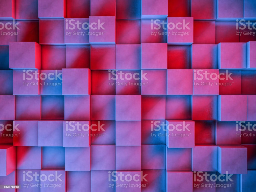 Abstract backdrop. Pattern design for banner, poster, flyer, cover, brochure. 3D rendering foto de stock royalty-free