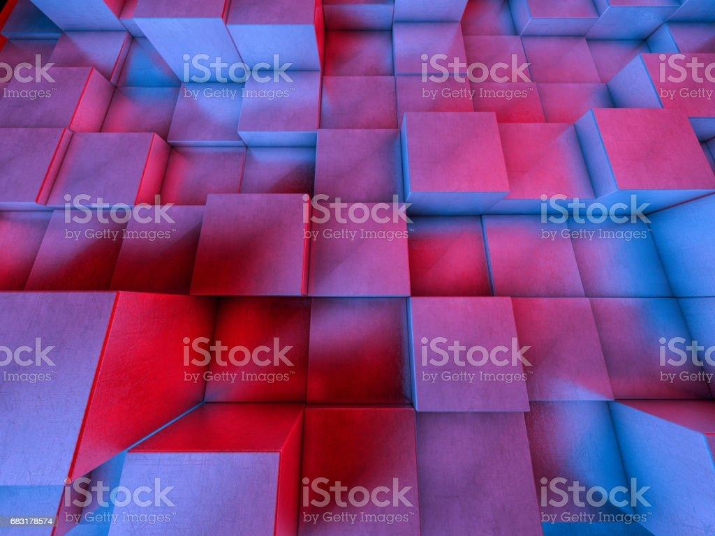 추상적인 배경 막입니다. 배너, 포스터, 전단지, 커버, 안내 책자에 대 한 패턴 디자인. 3 차원 렌더링 royalty-free 스톡 사진