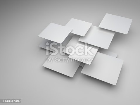 istock Abstract background 3d render 1143617482