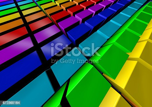 istock Abstract background. 3D Rendering 672365184