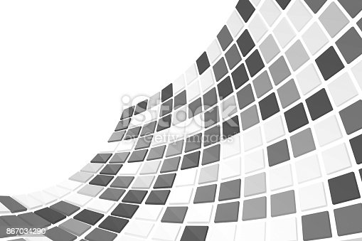 istock Abstract background. 3D rendering. 867034290