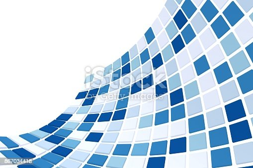 istock Abstract background. 3D rendering. 867034418