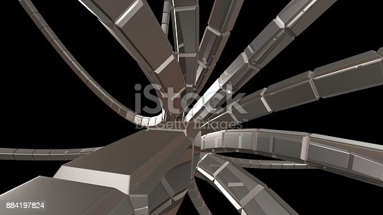 istock abstract background 3d rendering 884197824