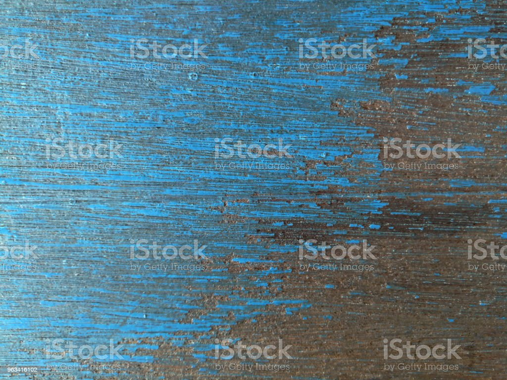 Abstract background and texture of blue wooden - Zbiór zdjęć royalty-free (Bez ludzi)