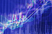istock Abstract background based on stock market graphs 627089302
