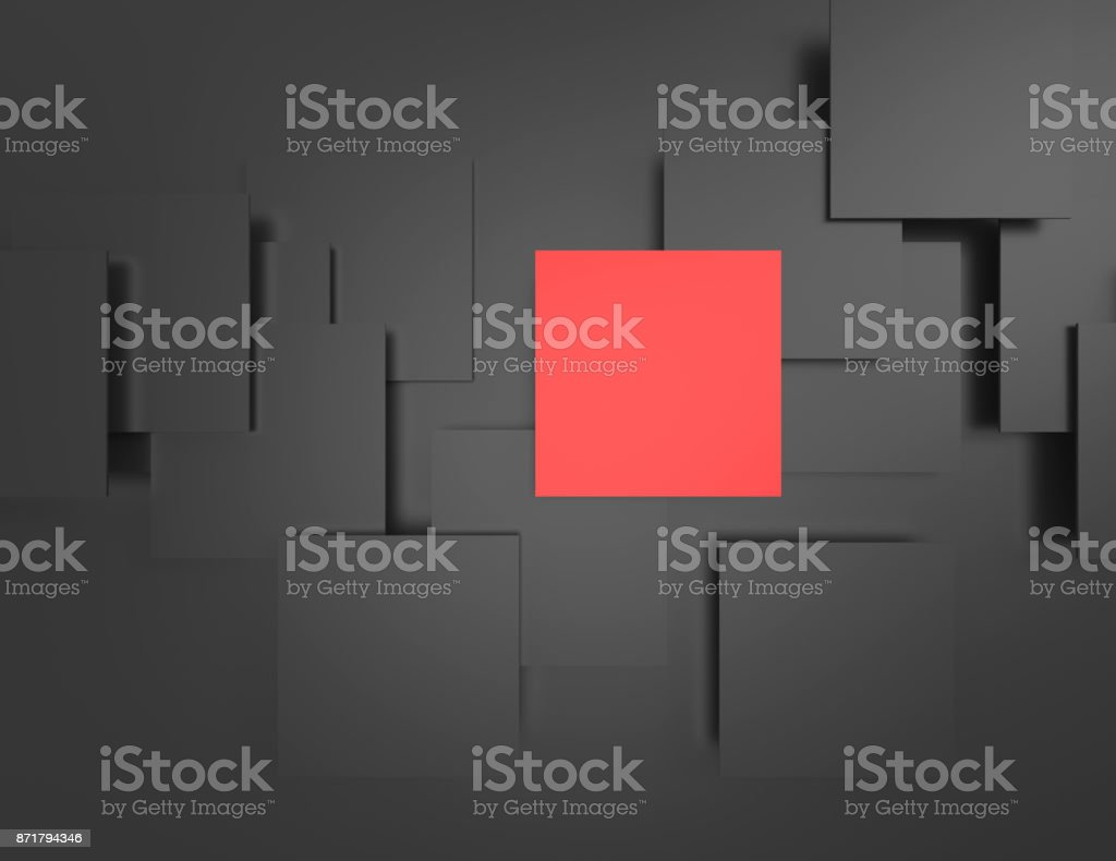 Abstract background, black frames stock photo
