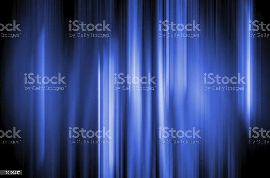 Abstract Background - Blue Fire royalty-free stock photo