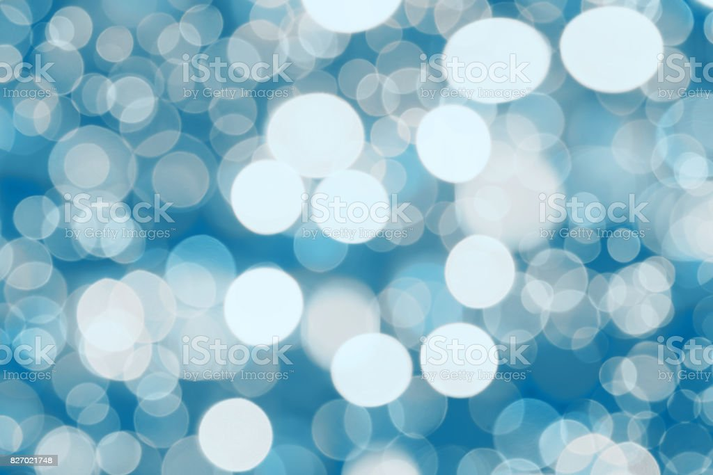 Abstract background. blue-colored blur. Circle blur stock photo