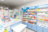 istock abstract background blur shelf with medicines and other goods in pharmacy store 970766042