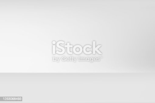 abstract background blurred. gray white rays light gradient empty room studio. used for background and display your product