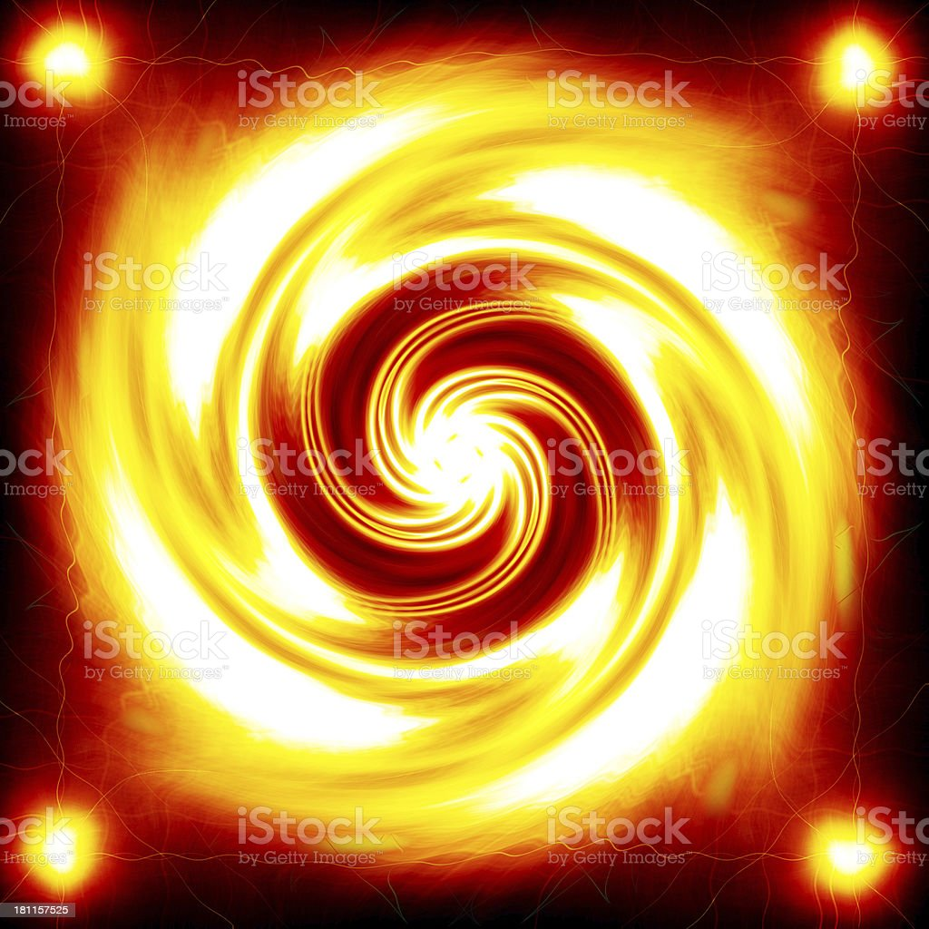 Abstract background. circle of light in movement stock photo