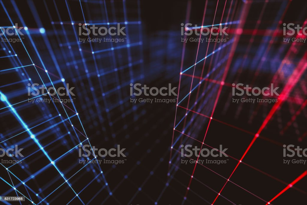 Abstract Background Connections stock photo
