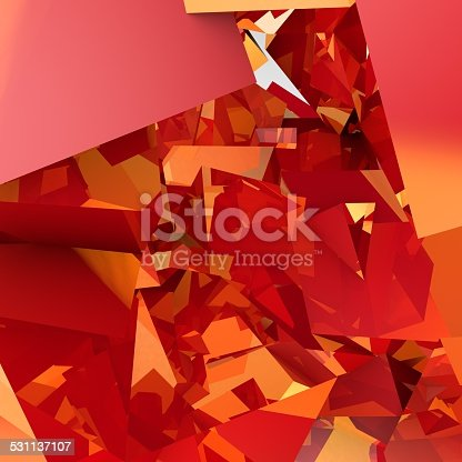 istock abstract background consisting of geometric shapes 531137107