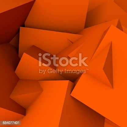 istock abstract background consisting of geometric shapes 534077401