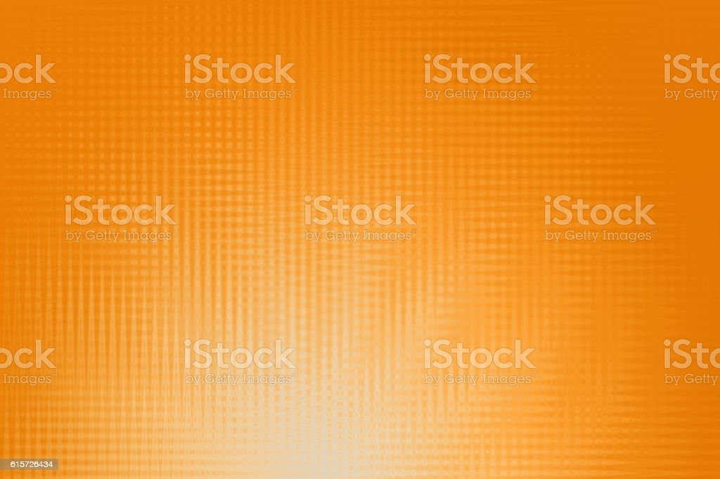 Abstract Background, Defocused Checkerplate Pattern, Muted Orange stock photo