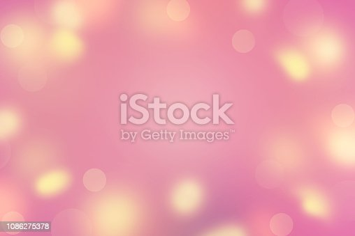 Abstract background Defocused Spots Bright colors Saturation violet yellow pink sun glare. Merry Christmas and happy New year. Valentine's birthday