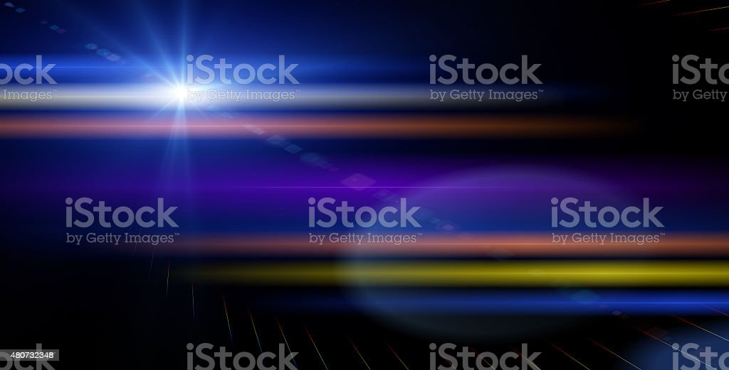 Abstract Background effect with light and space effect stock photo