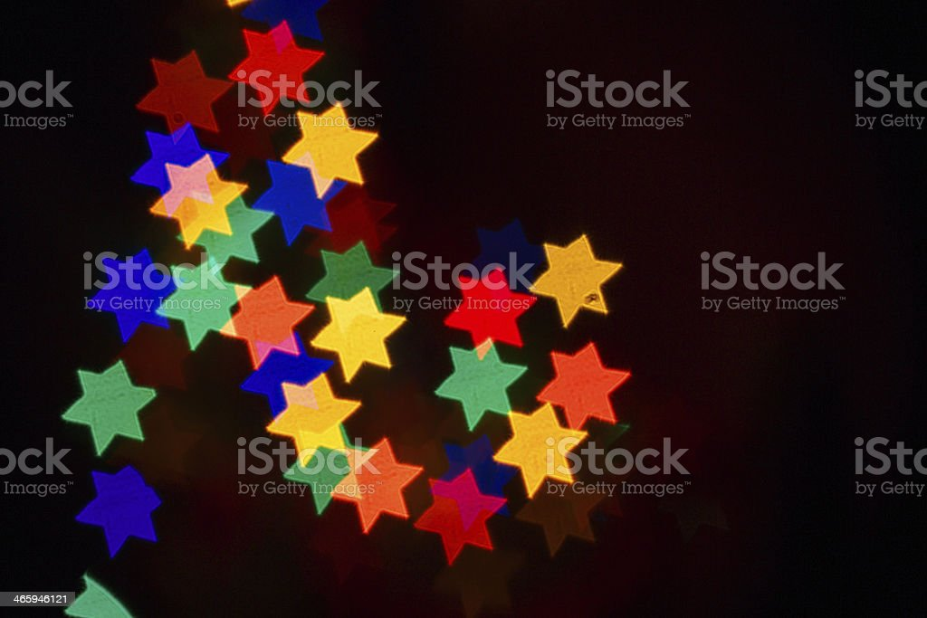 Abstract background for Hanukkah royalty-free stock photo