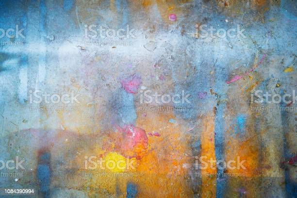 Abstract background from colorful painted on wall with grunge and picture id1084390994?b=1&k=6&m=1084390994&s=612x612&h=9evvn26vjklyg5g1lkscgft0p0zwj341ff1gsxg60cy=
