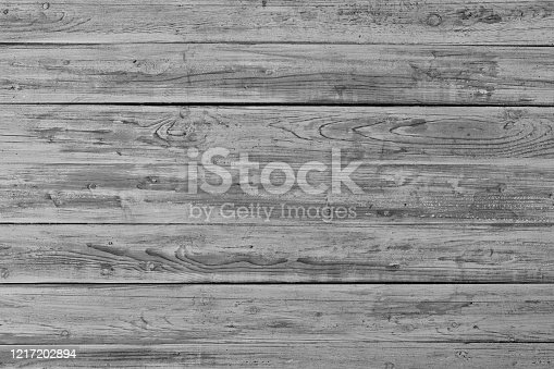 Abstract background from old black wood pattern on table. Vintage and retro backdrop.