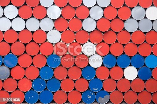 istock abstract background from the bottoms of iron barrels 545091636