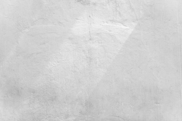 abstract background from white concrete wall with sunlight, light and shadow. - stile minimalista foto e immagini stock