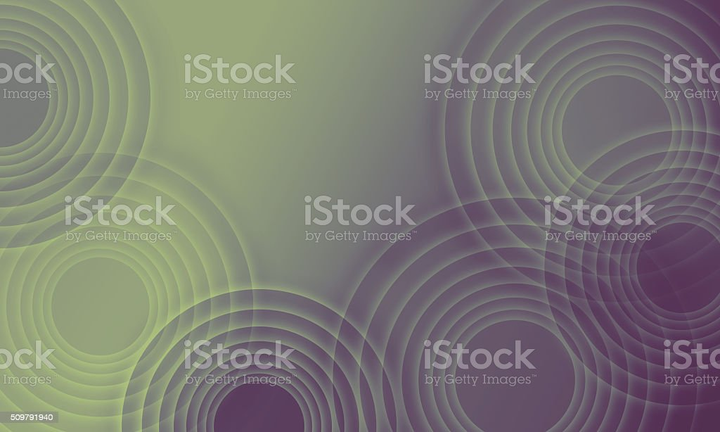 Abstract background - glowing circles stock photo