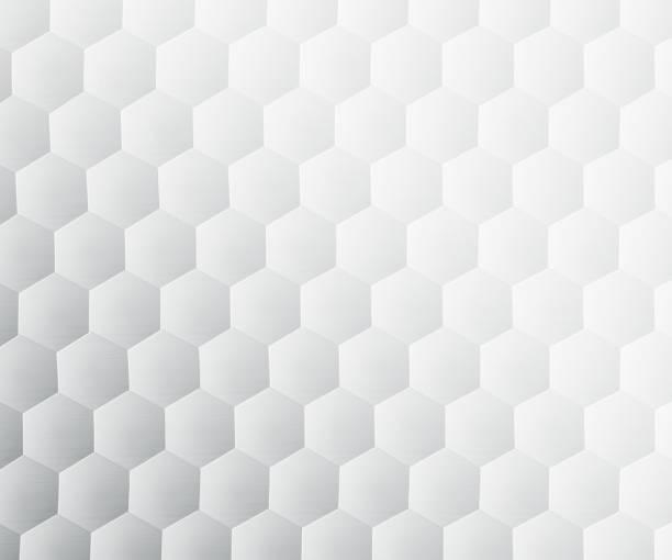 抽象背景六邊形白色 - 蜂巢式樣 個照片及圖片檔