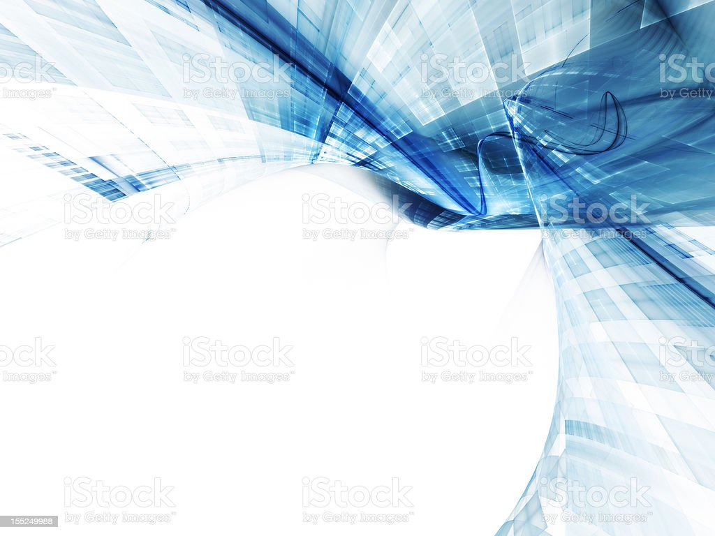 Abstract background image with blue web pattern royalty-free stock photo
