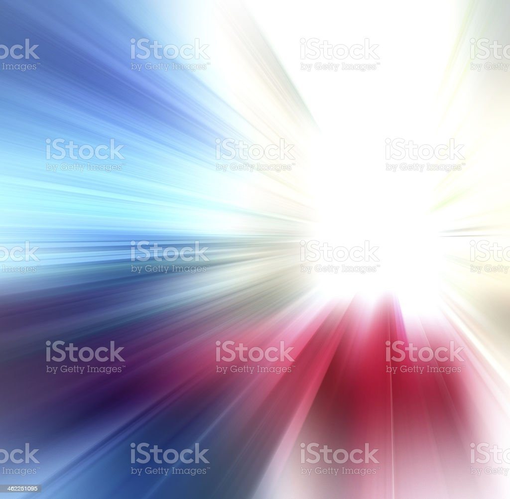 Abstract background in blue, yellow, white and red tones. stock photo