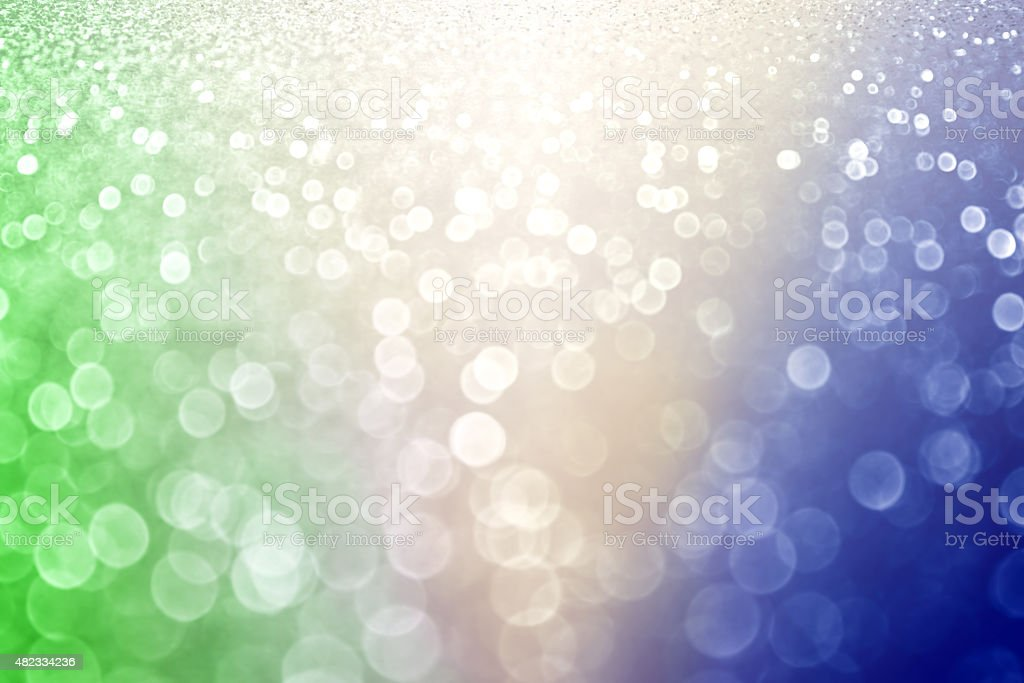 Abstract Background in Colors of Brazil Brasil Flag stock photo
