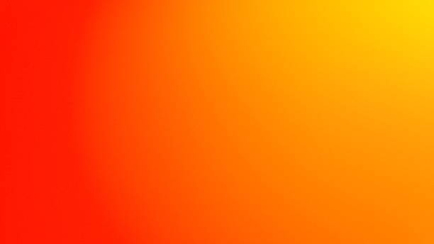 abstract background in gradient in yellow and orange stock photo