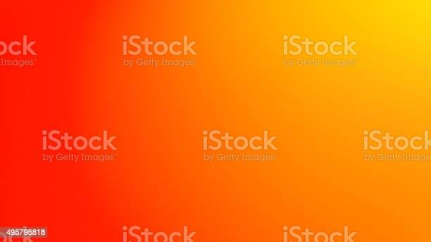Photo of abstract background in gradient in yellow and orange