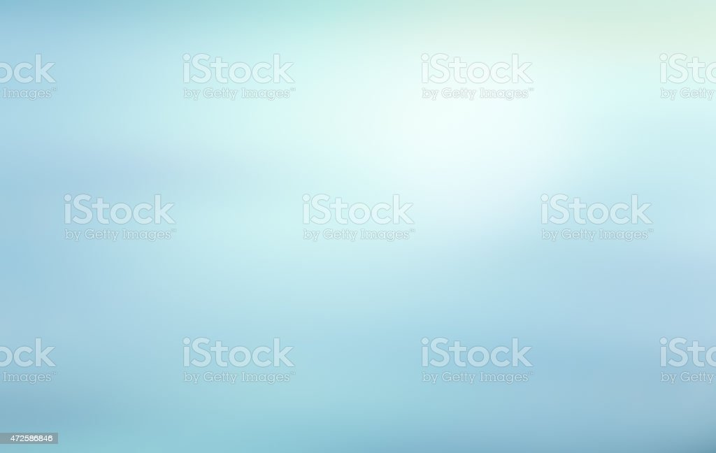 Abstract background in shades of light blue stock photo