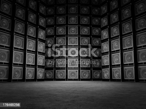 istock Abstract background is in guitar amps 176465256