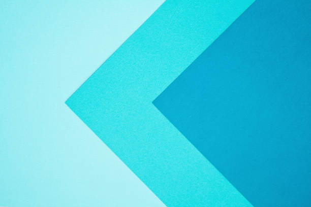Abstract background made with paper Abstract background made with different colored paper turquoise colored stock pictures, royalty-free photos & images