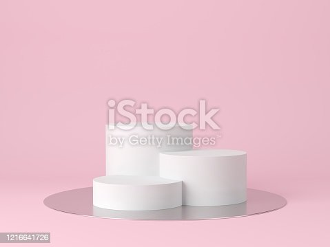 1129130415 istock photo Abstract background. mock up scene for product display. 3d render 1216641726