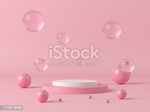 1129130415 istock photo Abstract background. mock up scene for product display. 3d render 1219276069