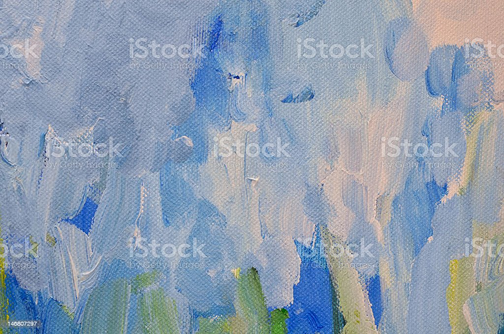 Abstract Background of Blue and white colors royalty-free stock photo