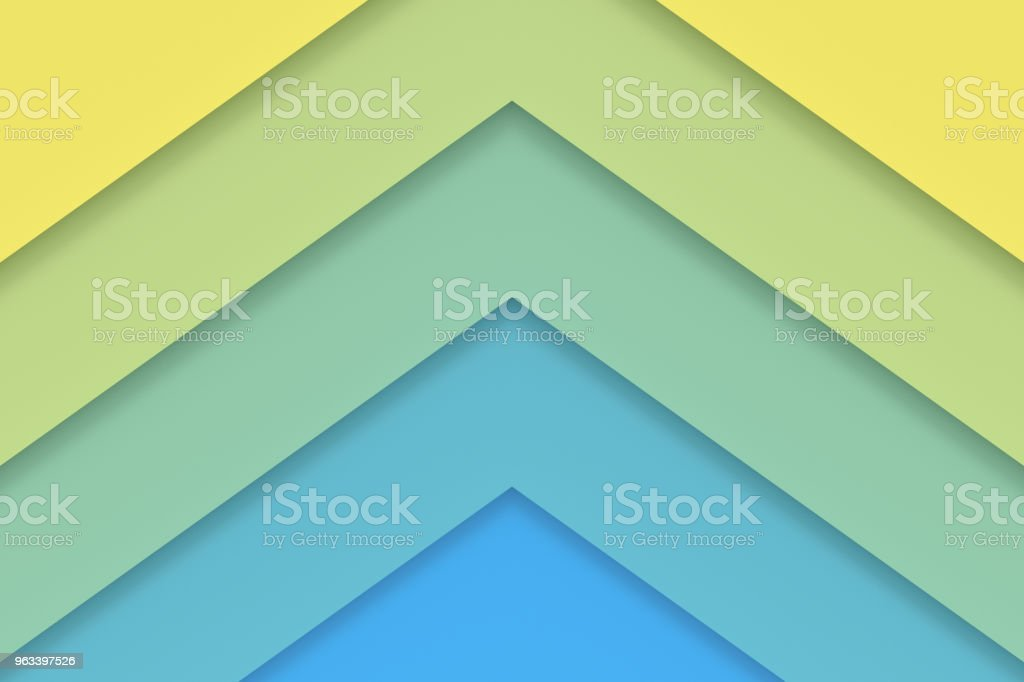 Abstract background of colorful paper. 3D rendering. - Zbiór zdjęć royalty-free (Abstrakcja)