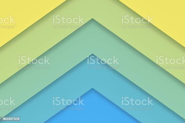 Abstrakcyjne Tło Kolorowego Papieru Renderowania 3d - zdjęcia stockowe i więcej obrazów Abstrakcja