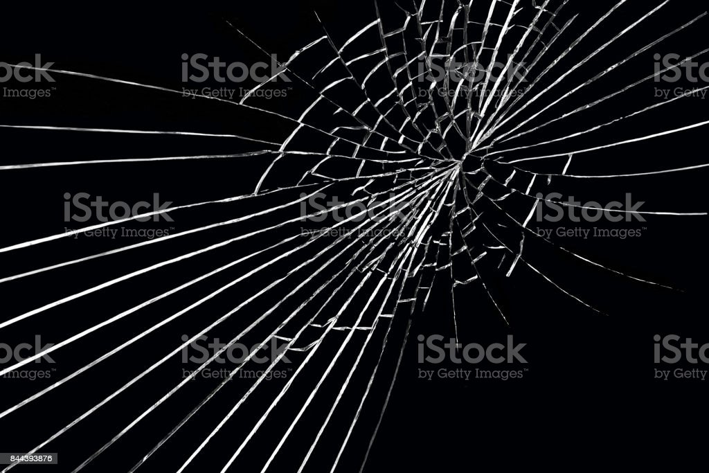 Abstract background of cracks stock photo